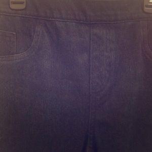 Spanx leggings denim jeans